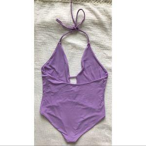 Frankie's Bikinis Swim - Frankie's Bikinis Lily Plunge One Piece Swimsuit